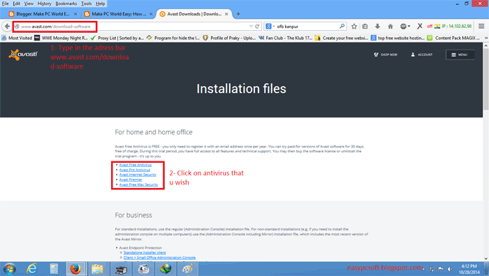 antivirus avast for pc