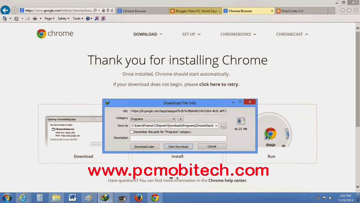 download google chrome latest version setup for windows 7