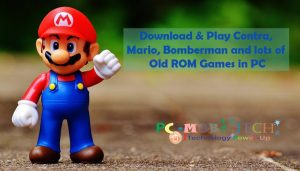 Download & Play Contra Mario Bomberman and lots of Old ROM Games in PC