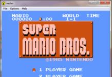 Nester game Mario