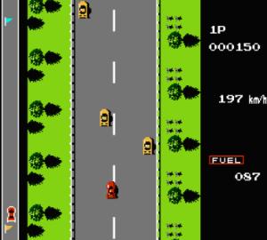 roadfighter nester game