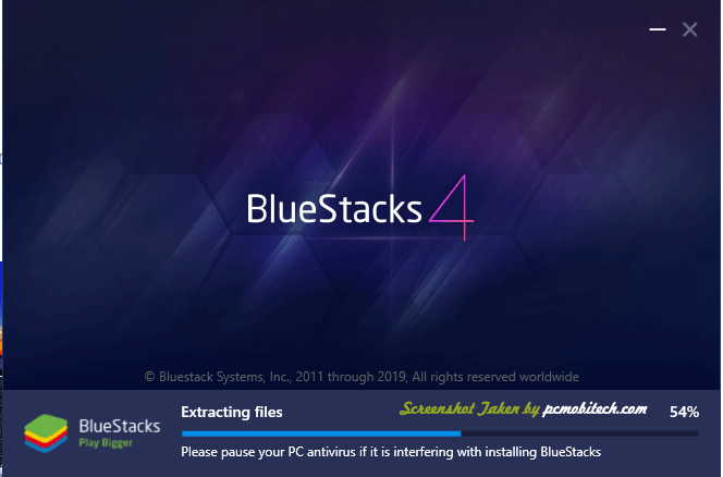 Bluestacks Installation screen-3