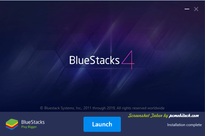 Bluestacks Installation screen-4
