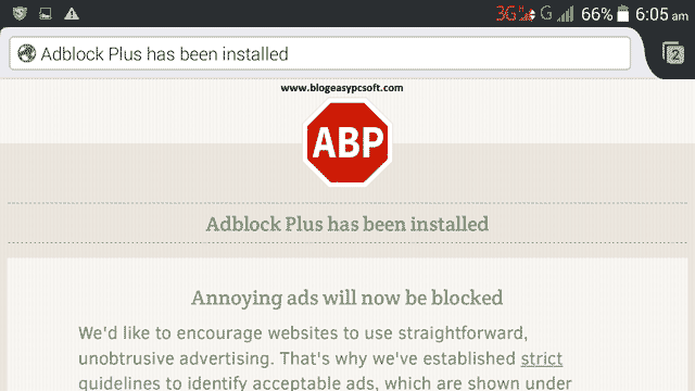 Adblock-plus-successfully-installed
