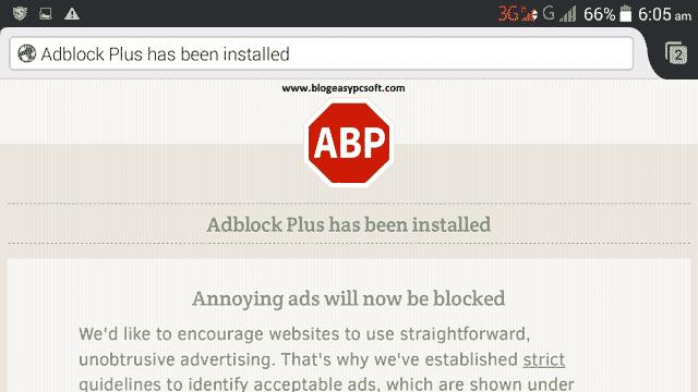 Adblock-plus-successfully-installed