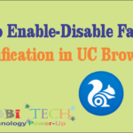 Enable-Disable Facebook Notifications in UC Browser.