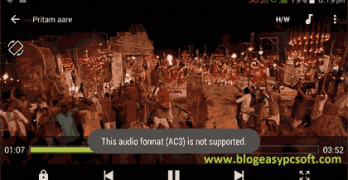 Ac3 Not supported in MX Player