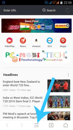 Uc-browser-10.9-update--Tap-on-menu