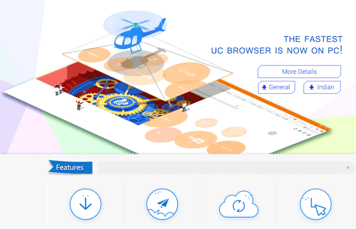 Download & Install UC Browser Offline for Windows XP, 7, 8