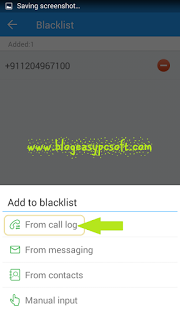 How to block calls with 360 Security Antivirus boost add number from call log blacklist