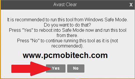can i install avast in safe mode