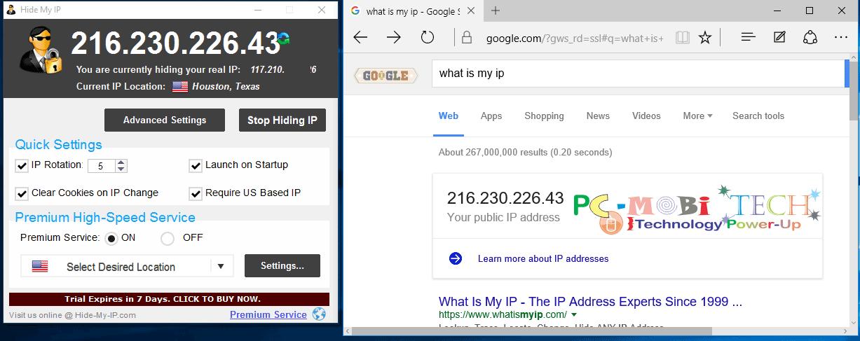 hide my ip online test