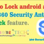 Lock Android Apps with password Using 360 Security AppLock.