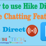How to use Hike Direct (Free Chatting Feature)