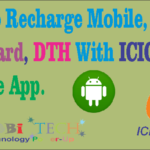 Recharge your Mobile, Data Card & DTH With ICICI imobile app