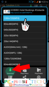 Choose-Video-Resolution-&-then-tap-on-download
