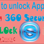 How to unlock apps from 360 Security Applock.