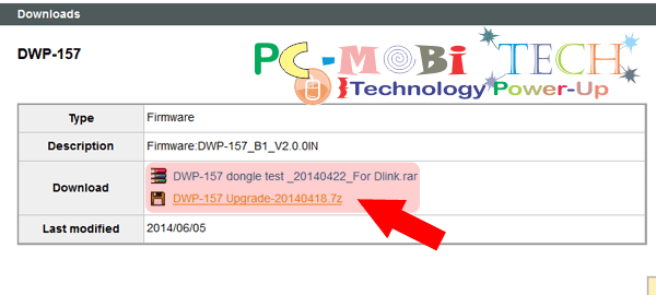 Click on driver to download