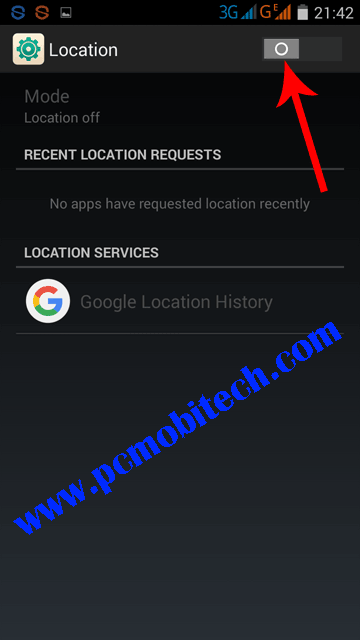 Enable-location-option-by-tapping-on-button