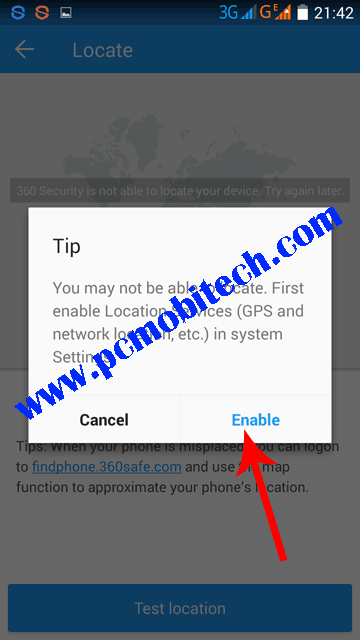 Tap-on-Enable-to-activate-location