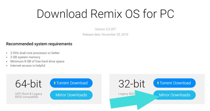 Download-Remix-OS