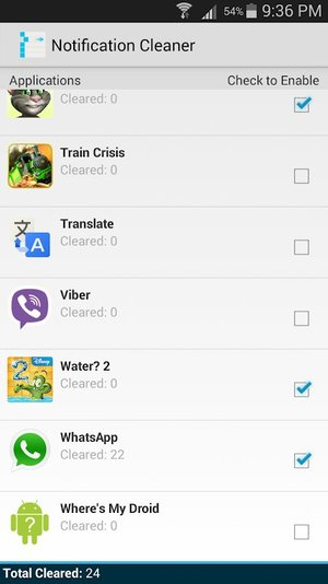 Notification Cleaner