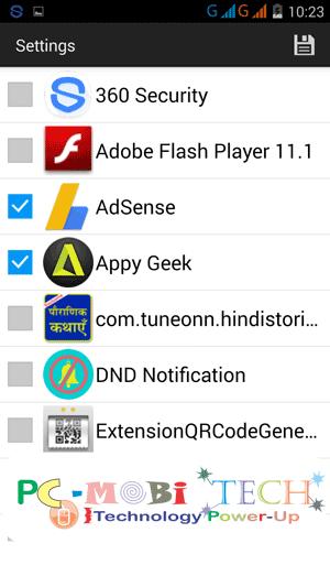 Push notification: Notification-Controller