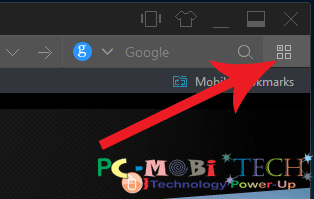 Click-on-Manage-extension-icon in UC browser PC