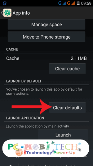 To-reset-UC-Browser-VIdeo-&-Audio-Player-tap-on-Clear-Default-button