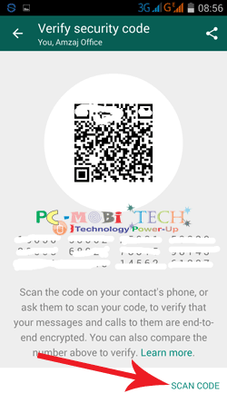 WhatsApp-Encryption-security-Scan-code