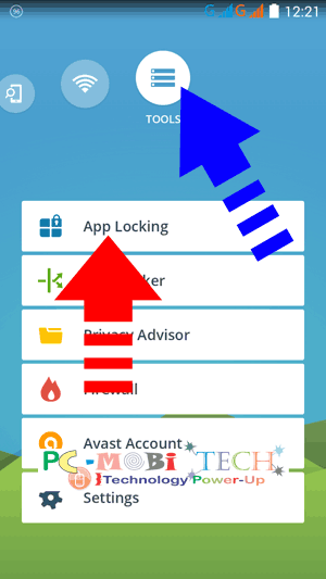 App-locking-Avast-mobile-sercurity-