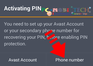 Avast-Antitheft-Activating-PIN-Enter-Phone-Number