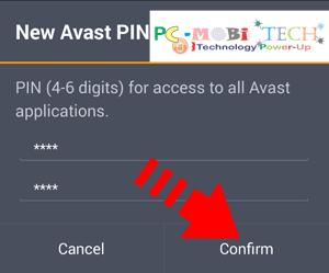 Avast Anti-theft :Create-a-new-Avast-Anti-theft-PIN-