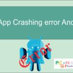Fix applications crash error Android.
