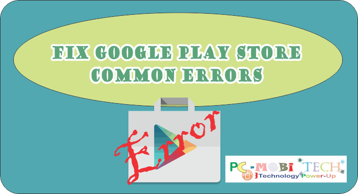 Fix Google Play Store 905 907 927 And Download Error