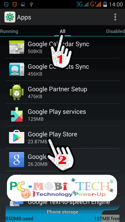 Fix-Google Play Store -905,-907-error