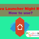 How to enable-disable and use Night Mode Nova Launcher?