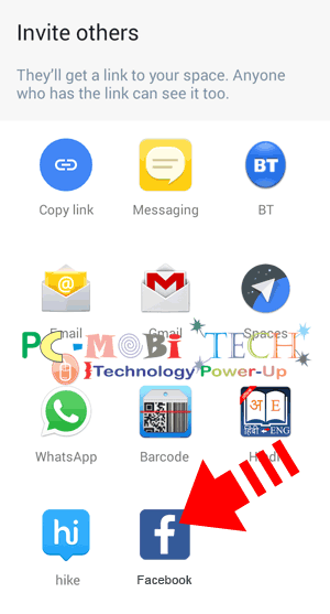 Select-your-app-to-share-Google-Spaces-group-link