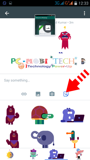 Share-Stickers-in-Google-Spaces-group
