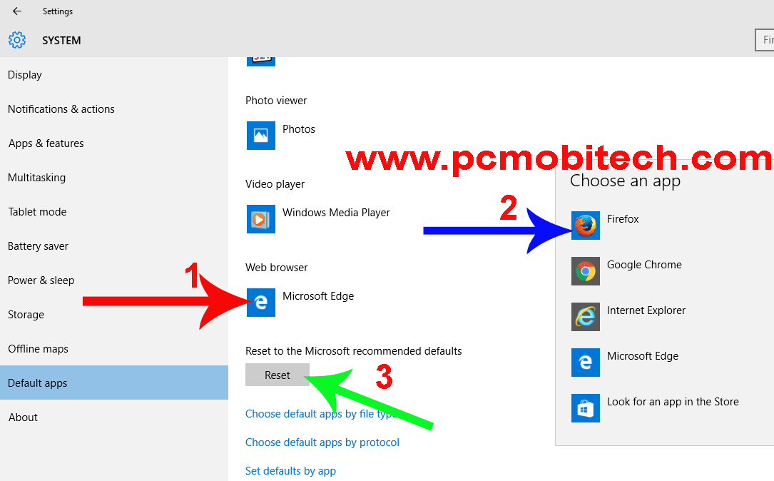 Make default app windows 10:click-on-the-application-and-choose-your-default-app-from-the-list