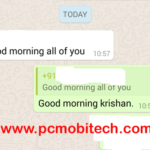 WhatsApp: Reply to specific message in any chat.
