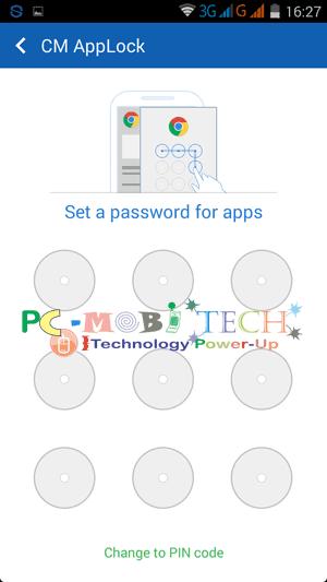 Draw-a-pattern- Clean Master Applock