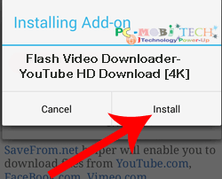 Flash-Video-Downloader--YouTube-HD-Download-[4K]--tap-on-install