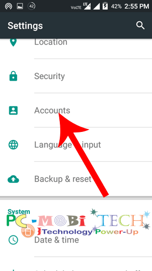 Tap-on-Account-to-check-Signin-account-detail