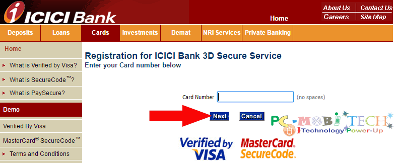 icici-bank-3d-secure-password-generation-for-debit-card