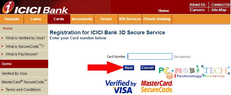 icici-bank-3d-secure-password-generation-for-debit-card