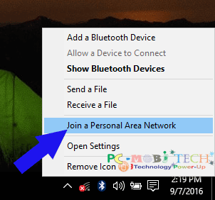join-a-personal-area-network