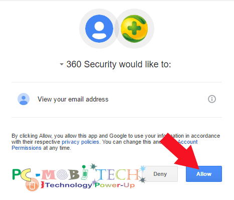 Allow-Google-account-access-to-access-phone-location