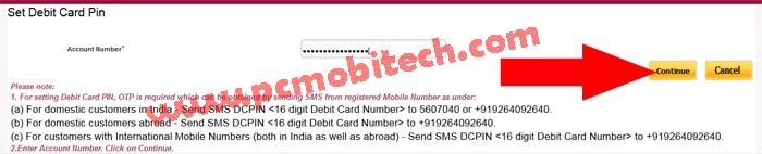 How to Reset Punjab National Bank Debit Card PIN online -pnb-1