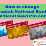 Howto change Punjab National Bank ATM/Debit Card PIN online.